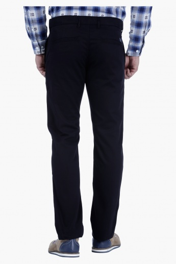 Full Length Casual Trousers in Regular Fit